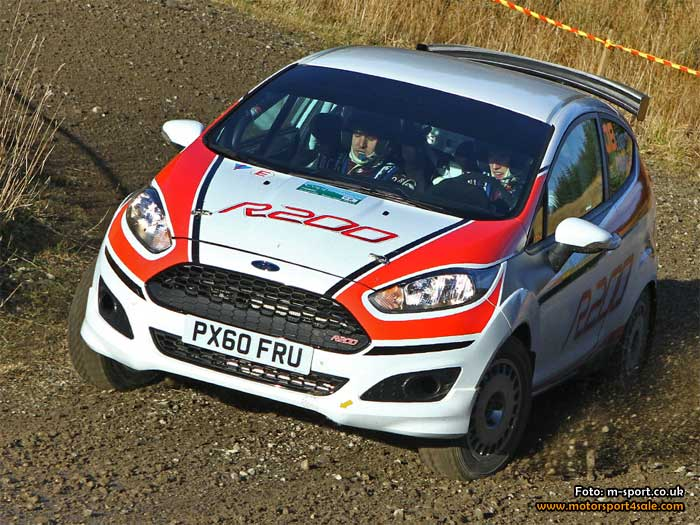 M-Sport testade uppdaterad Ford Fiesta R2 med framgång