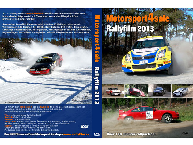 Motorsport4sale Rallyfilm 2013