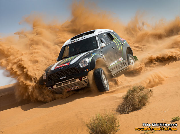 MINI favoriter i Rally Dakar 2014