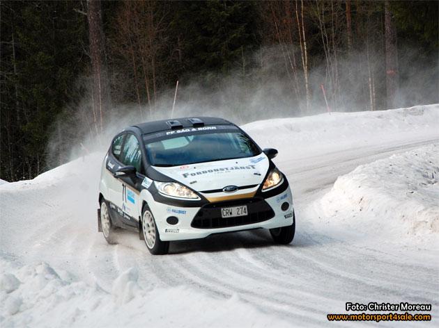 Sophia ny codriver för Mattias Olsson