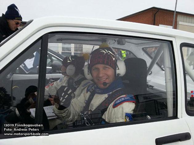 Petter Solberg till start i SM-sprinten