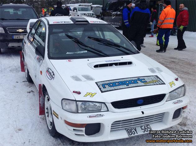 Bildspecial från rallyträning i Ludvika
