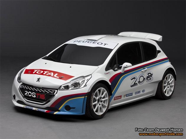 Hansen Motorsport kör Rallycross-VM med Peugeot