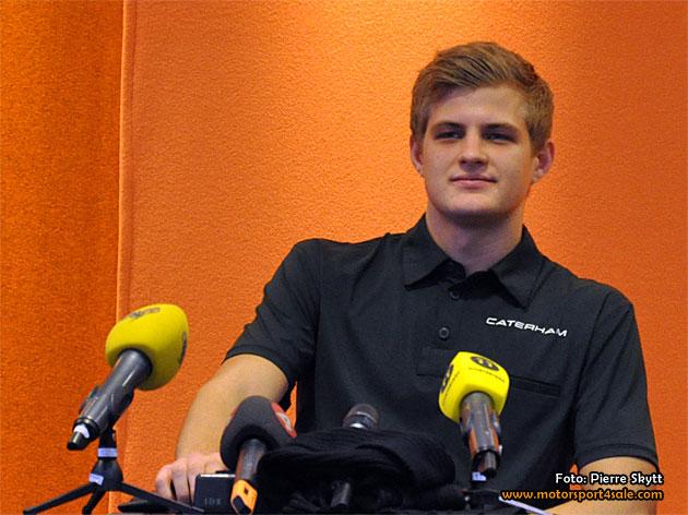 Marcus Ericsson vår nye F1-stjärna