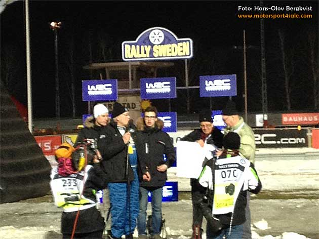 Emil stipendiat i Svenska Rallyförarklubbens pris 2014