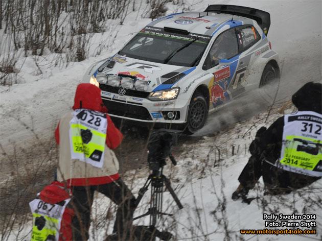 Reportage från Rally Sweden 2014