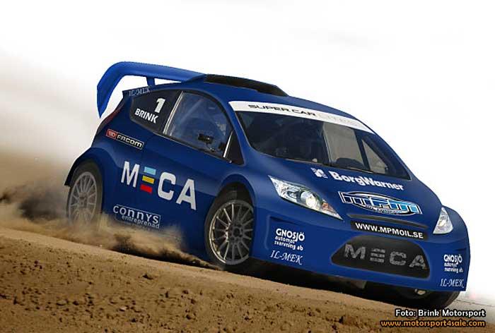 Tobias Brink gör comeback – kör rallycross i Supercar Lites
