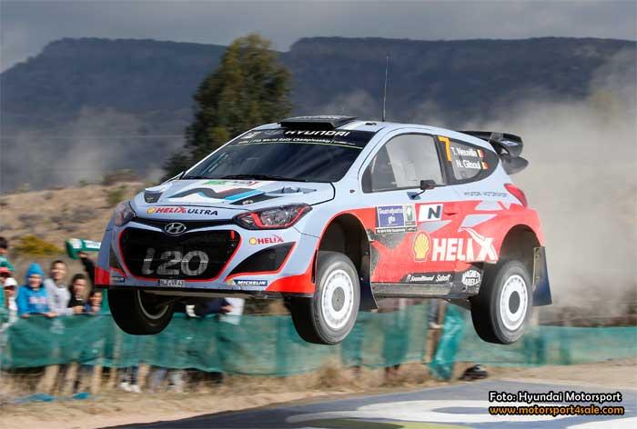 Hyundai startar med tre bilar i Rally Portugal