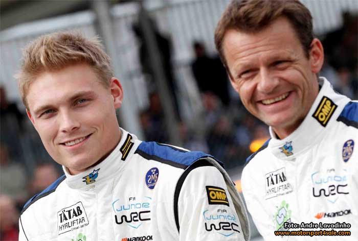 Pontus Tidemand debuterar i Fiesta R5 i Rally de Portugal