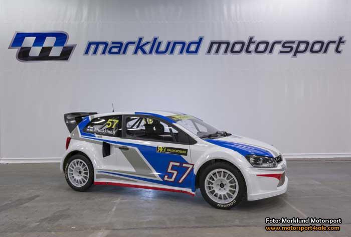 Marklund Motorsport redo för Rallycross-VM