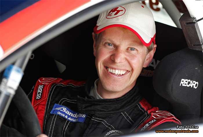 P-G Andersson kör RallyX för Marklund Motorsport