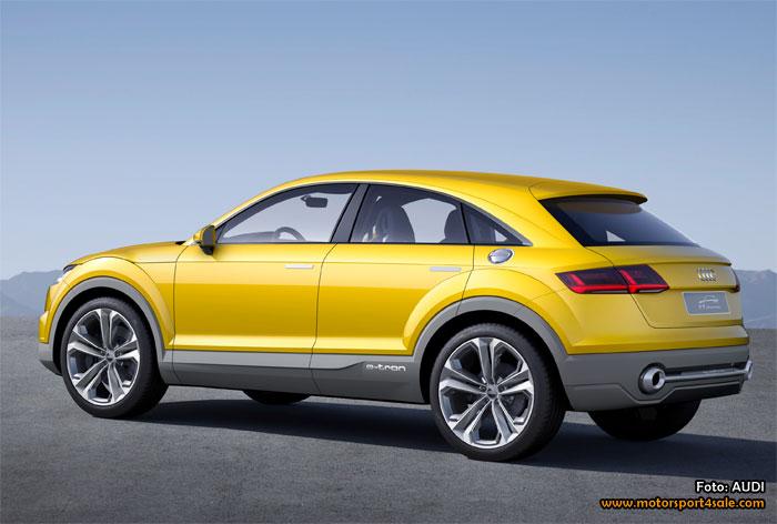 Audi TT offroad concept premiärvisas i Peking