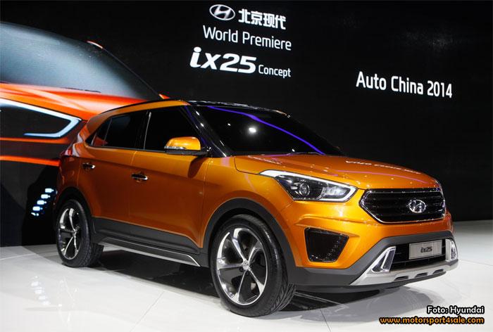 Hyundai visar upp konceptmodellen för ix25