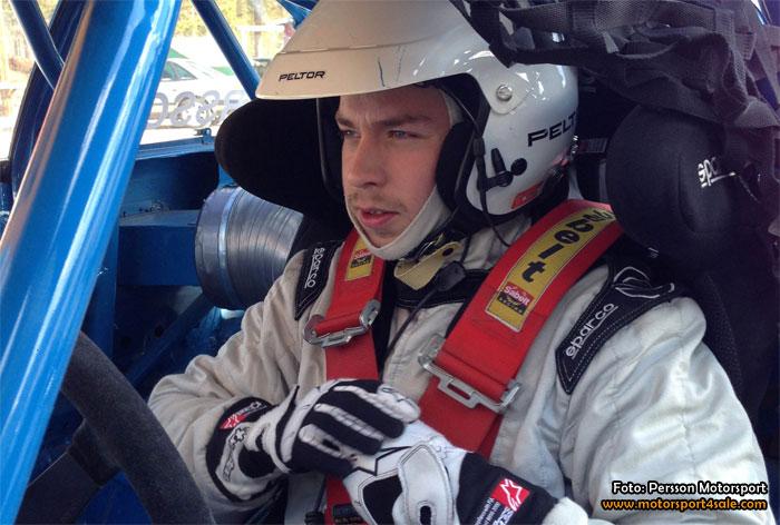 Andreas Persson siktar på JSM-guld i Rallycross