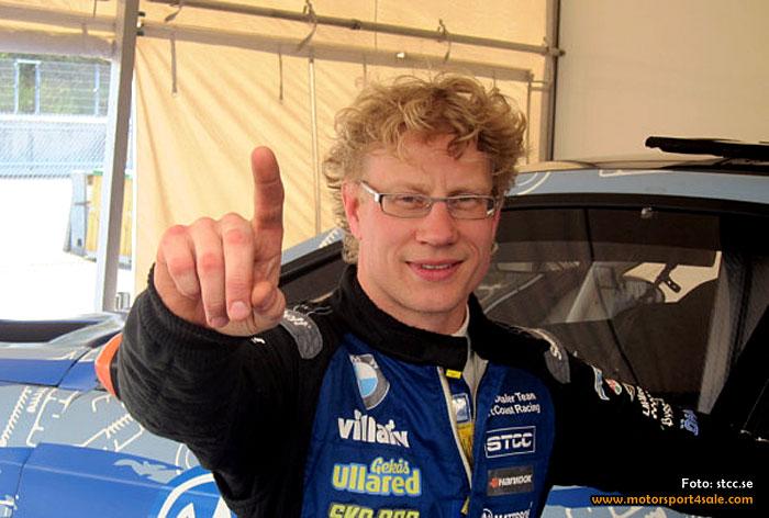 Officiellt STCC-test: Fredrik Larsson snabbast igen
