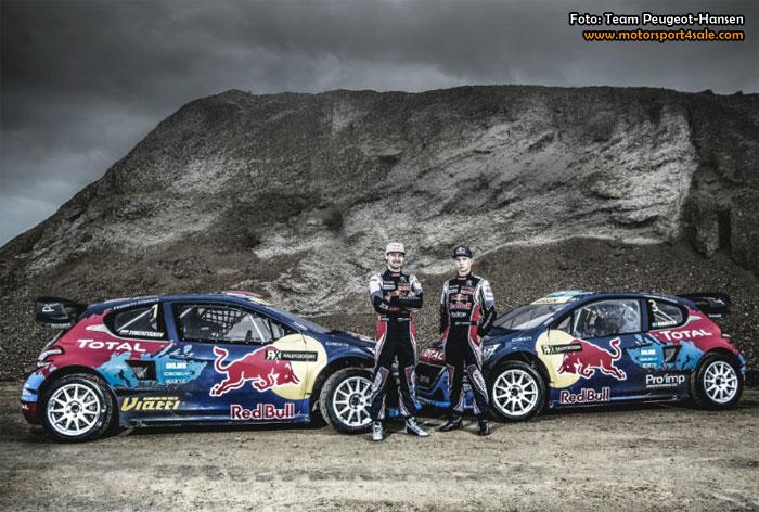 Team Peugeot-Hansens nya VM-satsning i rallycross