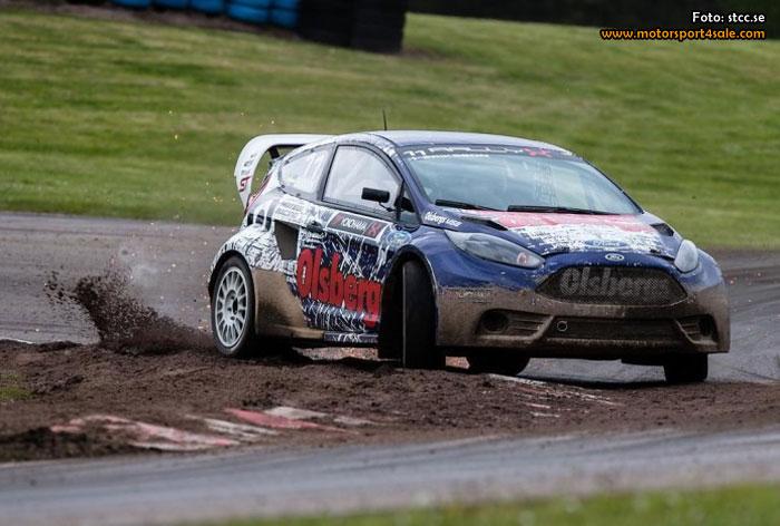 Sebastian Eriksson historisk segrare i RallyX-premiären