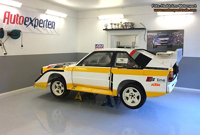 Rallycrosslegenden Olle Arnesson gör Peter Hedström sällskap till Lydden Hill