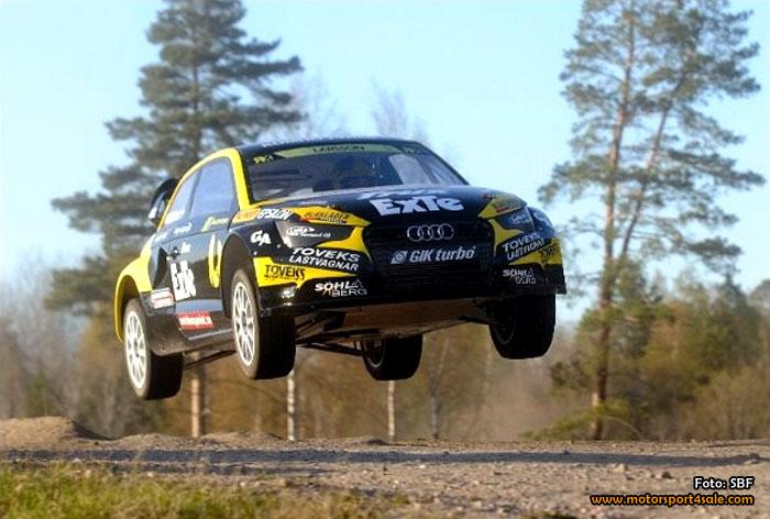 Nio svenskar till start i premiären av årets EM i rallycross