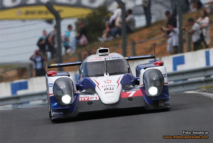 Toyota går för vinst på Le Mans