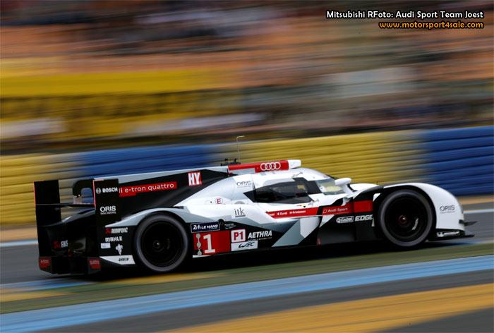 Audi redo för helgens 24h Le Mans