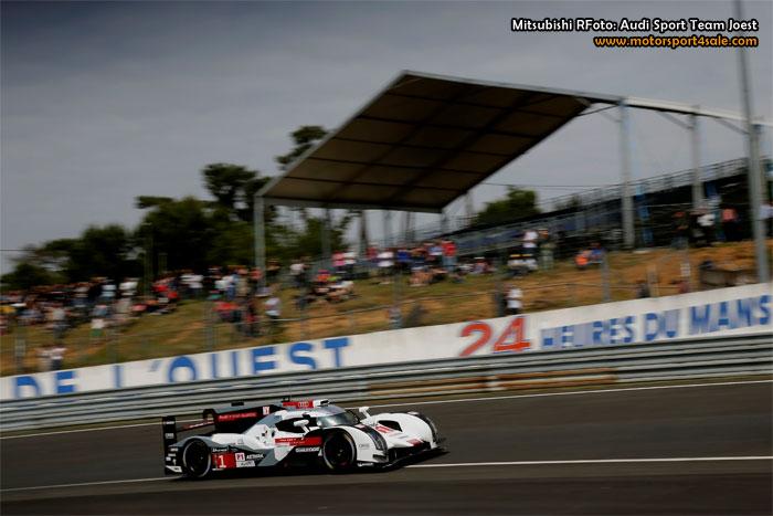 Dubbelseger för Audi i 24h Le Mans