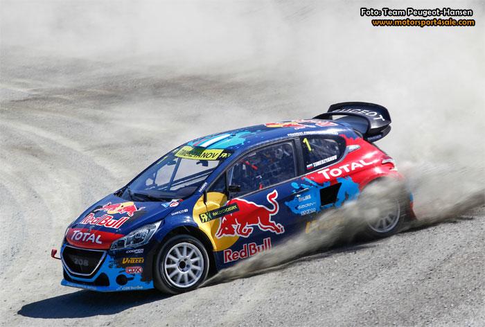 Team Peugeot-Hansen var bästa team i helgens tredje deltävling i FIA World Rallycross Championship i Hell i Norge.