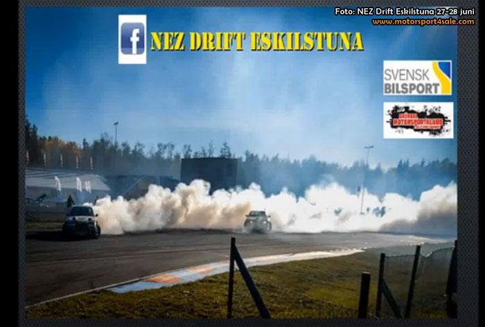 NEZ Drift Championship i Eskilstuna