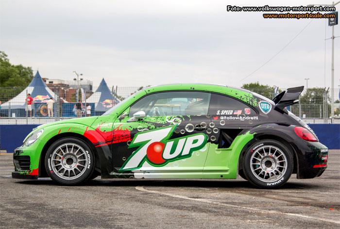 Volkswagen nya läskiga rallycross Beetle GRC