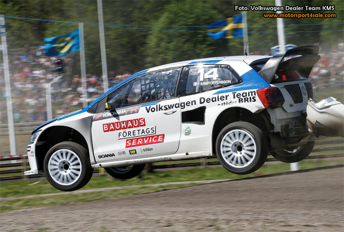 Volkswagen Dealer Team KMS siktar på seger i Strängnäs