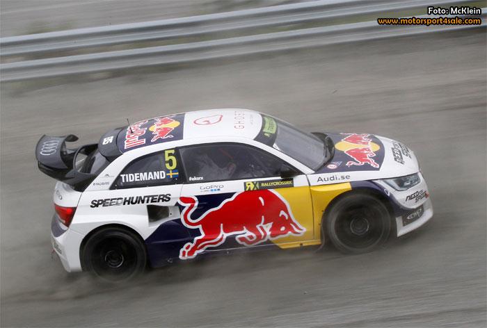 Pontus Tidemand laddar om för Rallycross-VM i Finland