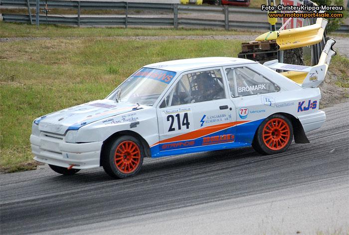 Mycket bilsport i SM-veckan i Borås