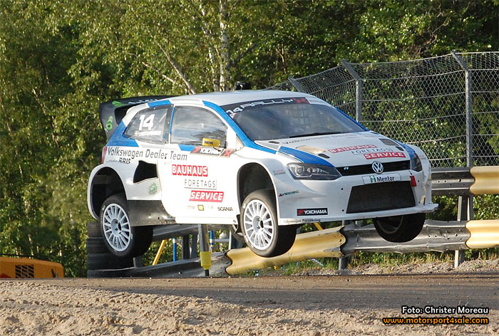 Johan Kristoffersson tog andra raka segern i Rallycross-SM