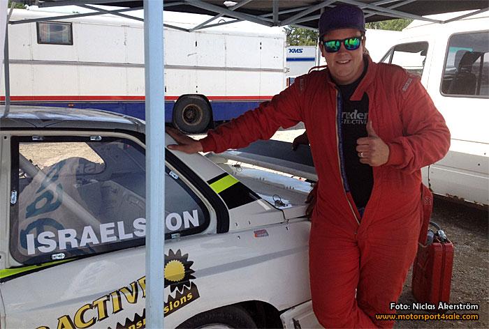 Andreas Israelsson vinnare i Back-SM för rallycross