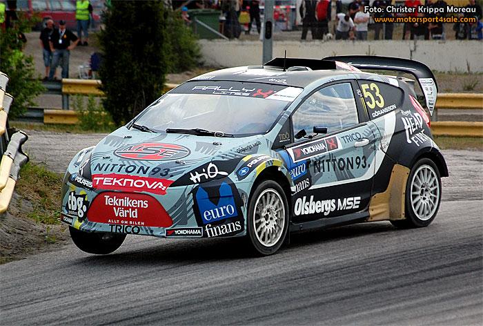 Richard Göransson ser fram emot mycket asfalt i Höljes