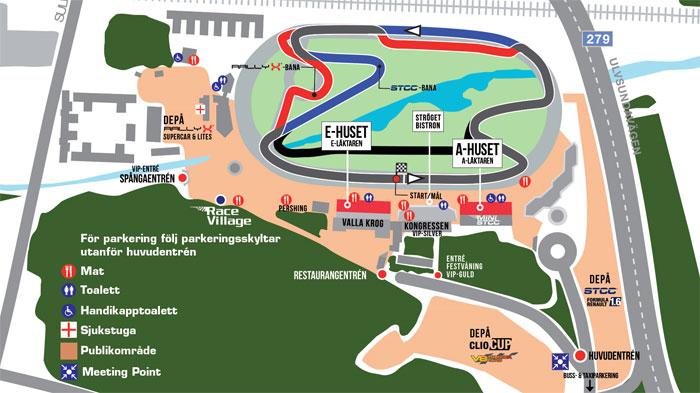 karta solvalla Från travbana till racerbana – STCC kommer till Solvalla | Nyheter  karta solvalla