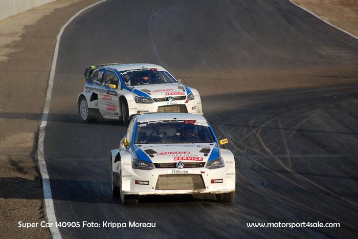 Bilder från Super Car fredag på Solvalla