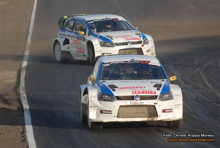 SM-medalj för Kristoffersson och Volkswagen Dealer Team KMS