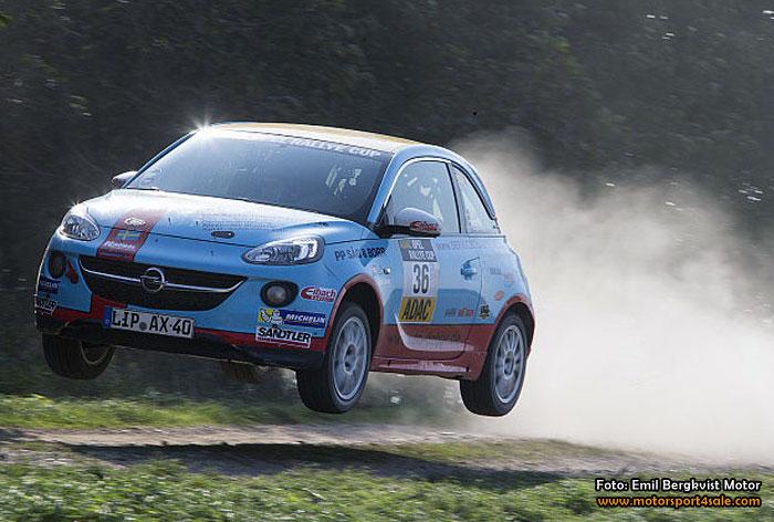 Ny pallplats för Emil Bergkvist i ADAC Opel Adam Cup