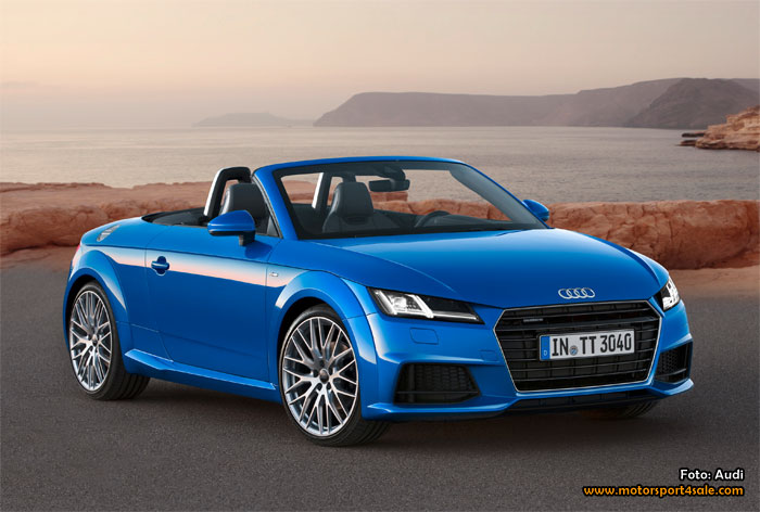 Premiär för nya Audi TT och TTS Roadster