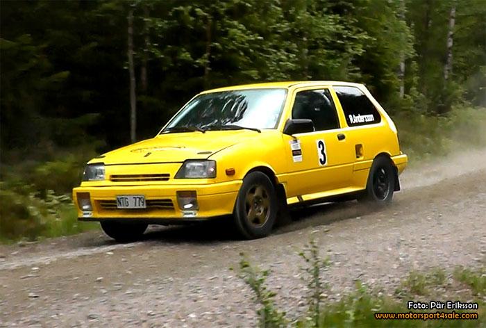 Rickard Andersson leder 1300 Rallycup inför lördagens Rally Sigtuna