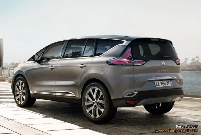 Premiär för nya Renault Espace