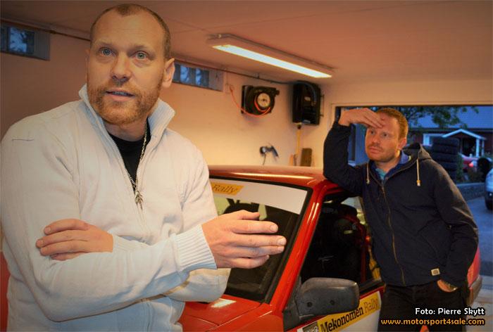 Rallyäventyr i Finland väntar Rickard och Patrick