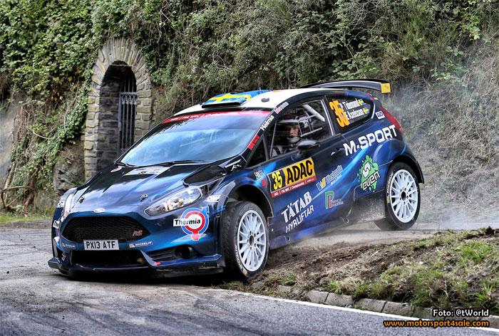 Pontus Tidemand redo för den franska utmaningen i Rally-VM
