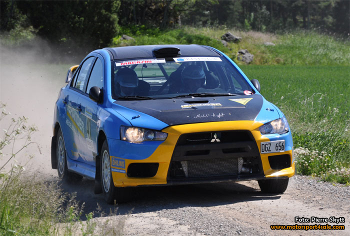 Mikael Lindqvist hoppas på guld i Rally-SM