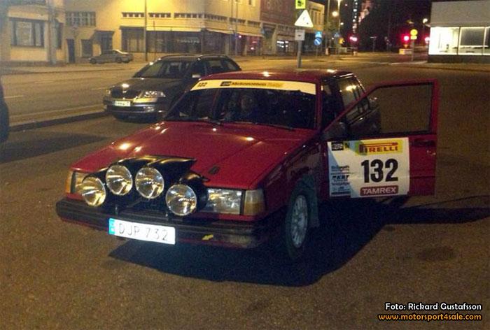 Lyckad rallyhelg trots strul i Finland för Rickard och Patrick
