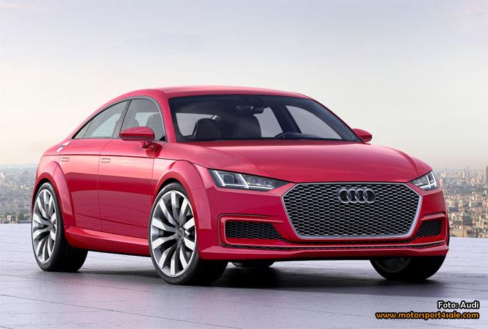 Audi TT Sportback concept premiär i Paris