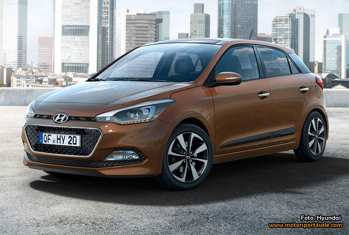 Världspremiär för nya Hyundai i20