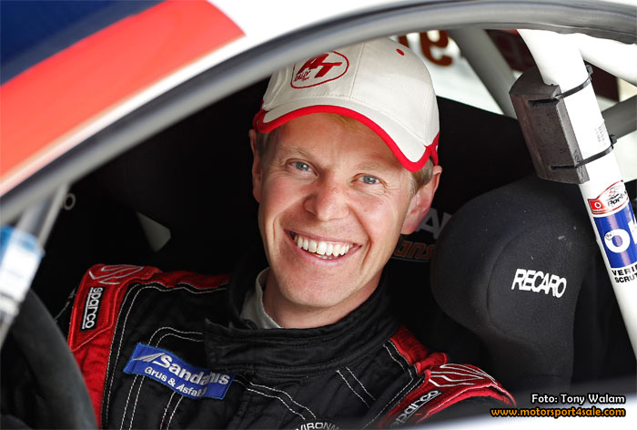 P-G Anderson kör EKS-Audin i Rallycross-VM