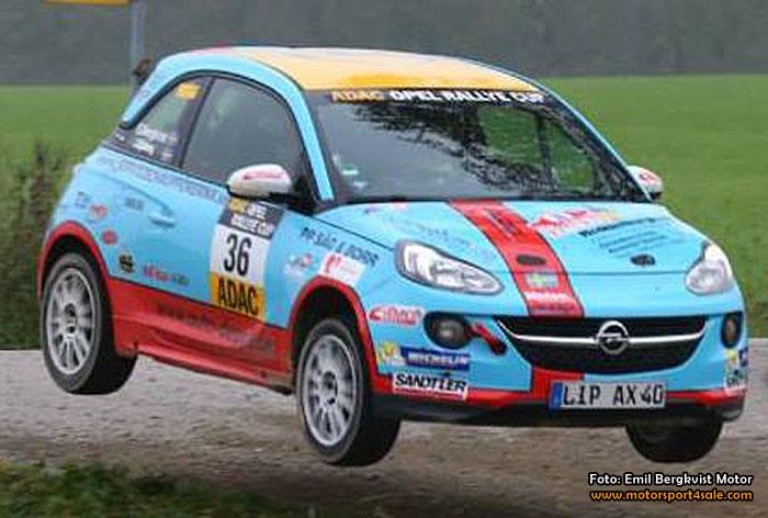 Emil Bergkvist vann Opel Adam Cup och Opel-styrning